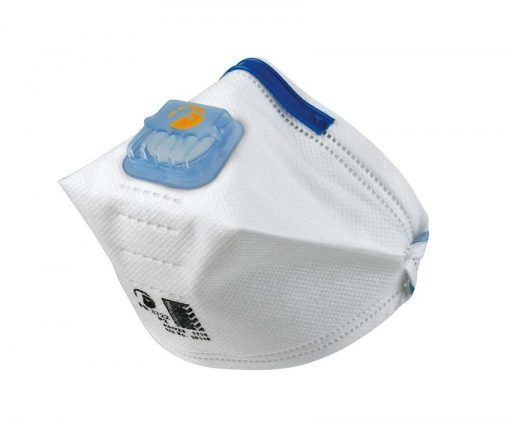 p2 valved crossfold respirator frontier masks fr3722