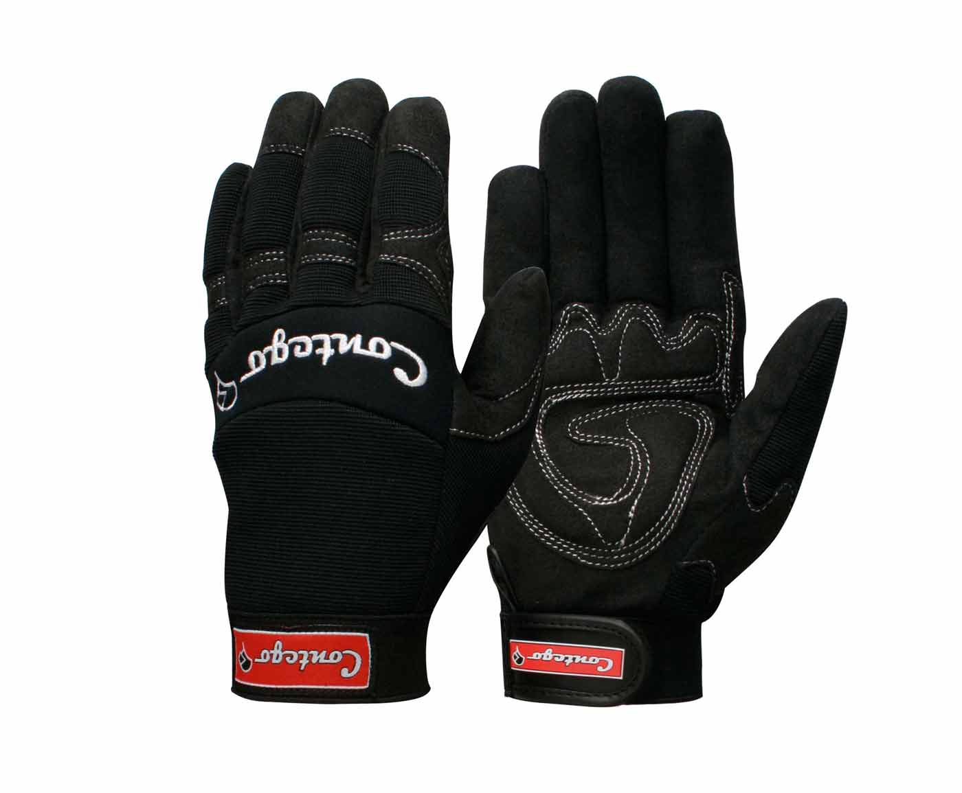 contego gloves synthetic leather rigger safety glove p8174