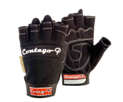 contego fingerless gloves rigger safety glove