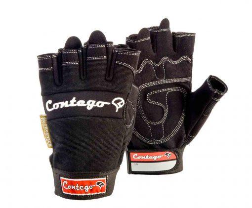 contego fingerless gloves rigger safety glove