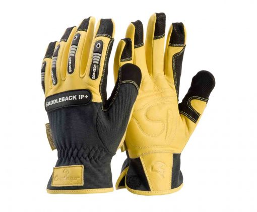 Contego Saddleback Impact Protection Leather Work Gloves p8376