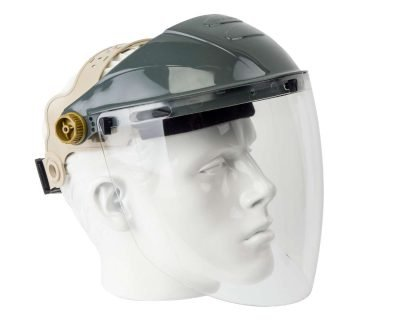 face shield clear frontier apollo face protection
