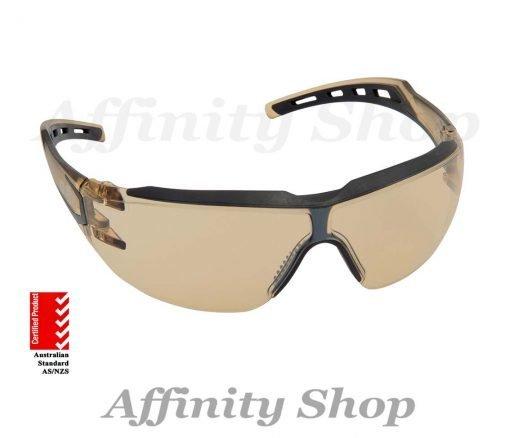 force360 24-7 bronze mirror safety specs efpr843