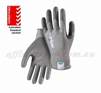 ninja silver plus cut 5 gloves dyneema nisilvrc5