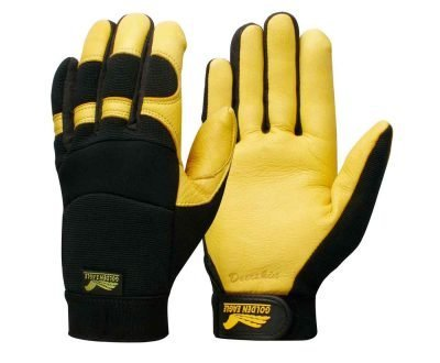 winter lined golden eagle work safety gloves