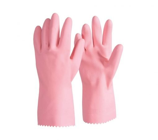 silver lined rubber latex gloves