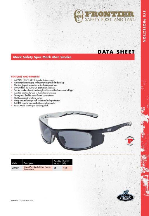 mack man safety glasses me507