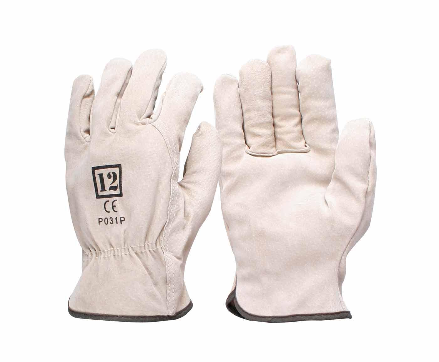 pigskin riggers gloves work safety glove p031p