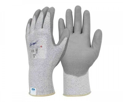ninja silver+ cut rated safety gloves p515