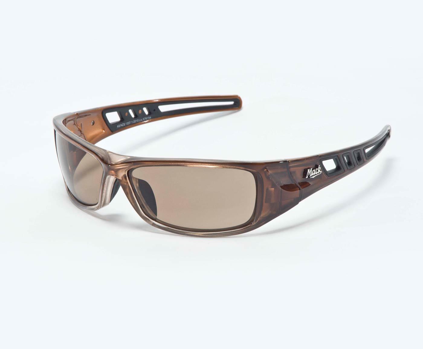 Mack Longhaul polarised safety glasses ME504