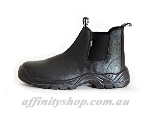 trade boots bison slip on leather work boot