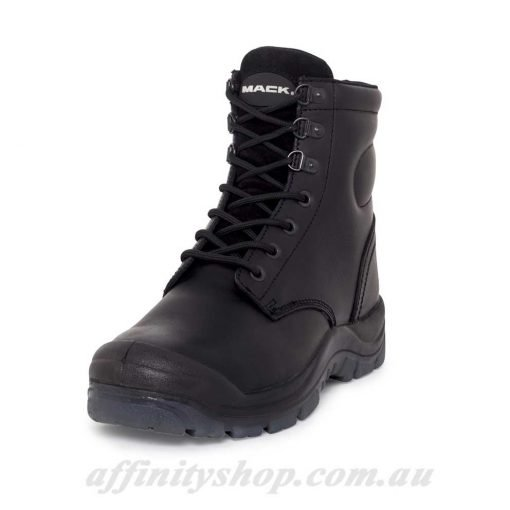 mack boot charge black safety boots
