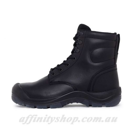 mack boot charge black work boots
