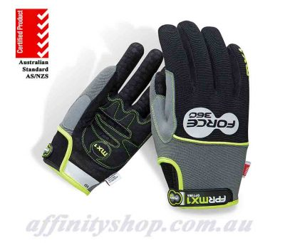 force360 mx1 optima mechanics work gloves fprmx1
