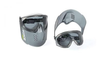 guardian plus visor goggle combo smoke force360 EFPR861