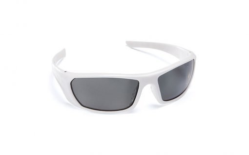 Mirage Polarised Safety Glasses White Force360 EFPR901