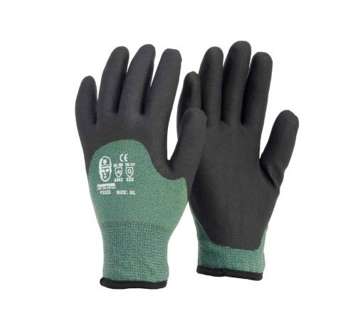 cold fighter gloves frontier winter lined freezer work glove