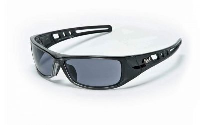 Mack B Double Polarised Safety Glasses Work Eye Protection ME503