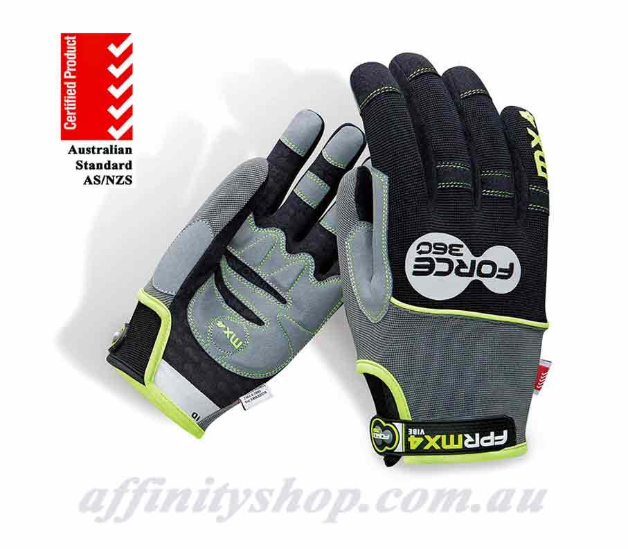 force360 vibe mx4 mechanics anti vibration gloves FPRMX4