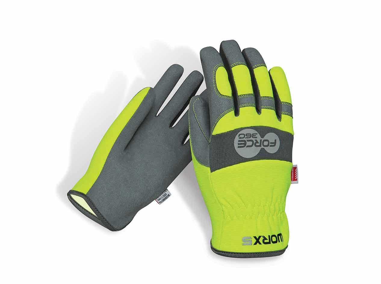Fast FIt Hi Vis Force 360 Work Gloves GWORX5