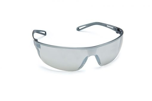 Force360 Air Silver Mirror Safety Specs EFPR803