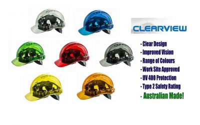 Clearview Hard Hats All Colours Work Head Protection Range