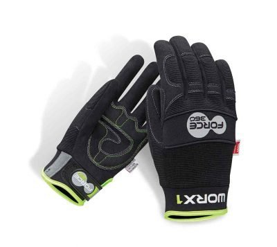 Force360 GWORX1 Work Gloves Contego Mechanics Style Glove