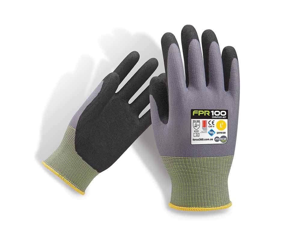 coolflex agt work gloves ninja style synthetics force360 fpr100