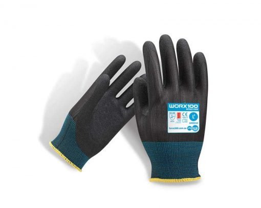 Eco Sand Nitrile Work Gloves WORX100