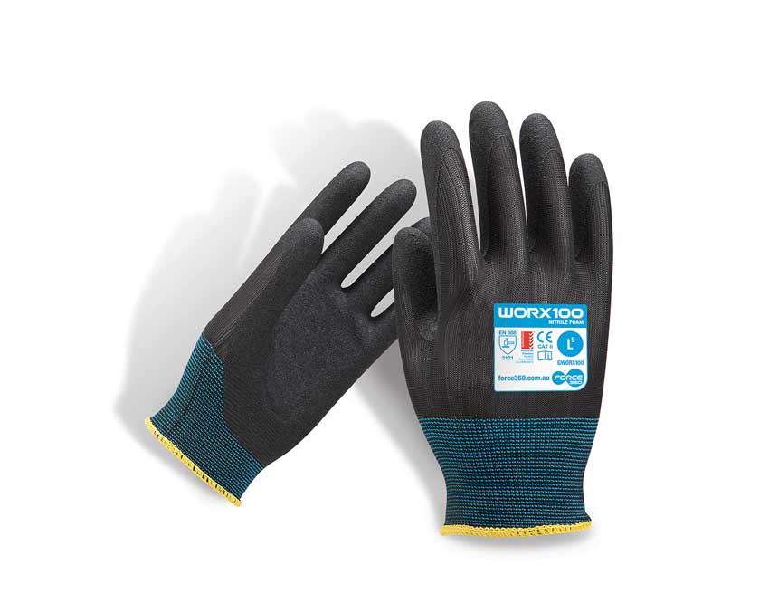 Eco Sand Nitrile Work Gloves WORX100