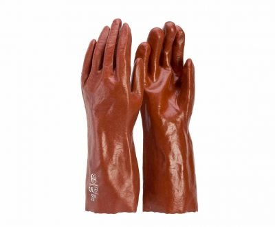 Chemical Gloves Red PVC Frontier Work Safety P235 P245