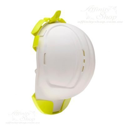 Hard Hat Holder Fluro Yellow Helmet Storage Clip Hook HFPRHHH