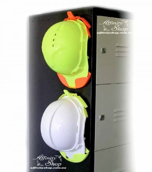 Hard Hat Holder Storage Office Work Site Filing Cabinet