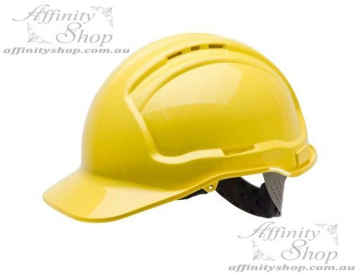 Premium Hard Hat Type 2 Unvented Yellow Tuffguard Force360