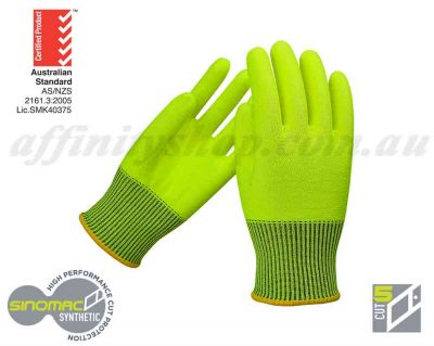 cut 5 gloves buy force360 work glove fpr206 fluro yellow