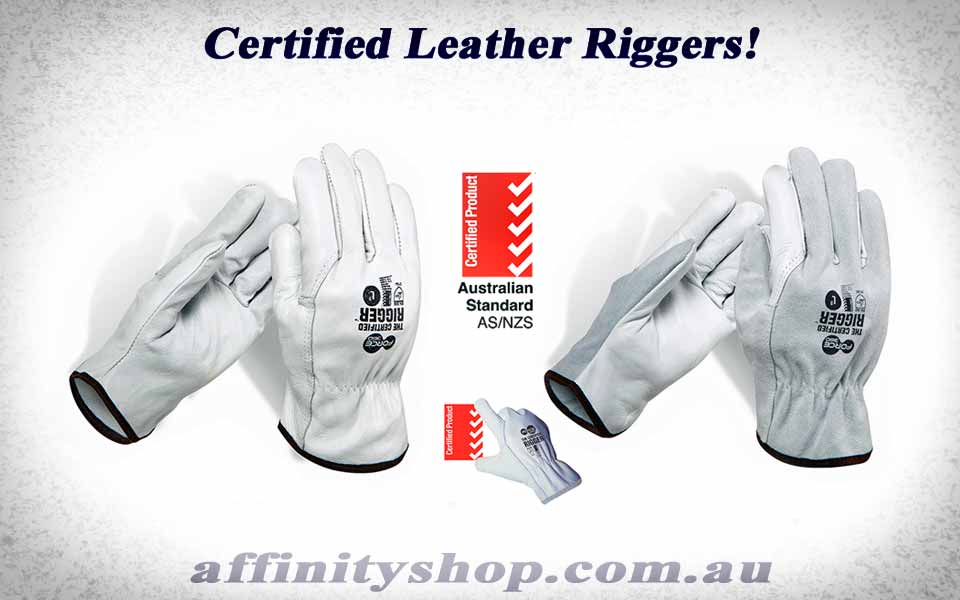Leather Rigger Gloves – Certified Rigger