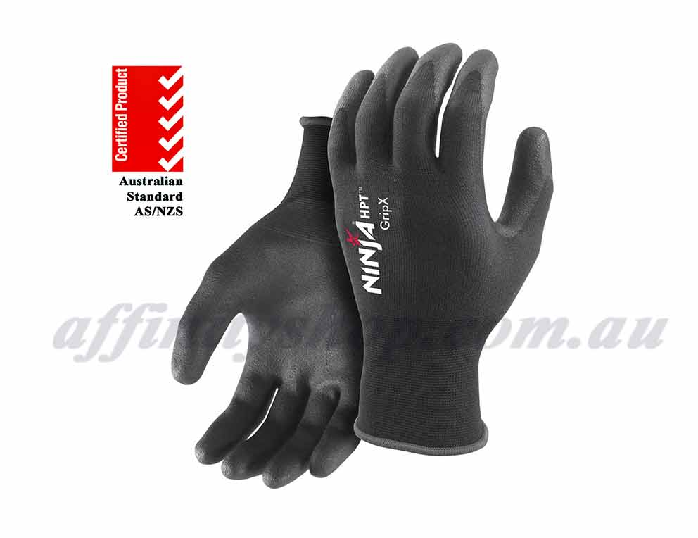 ninja hpt work gloves gripx p4001 safety 4131