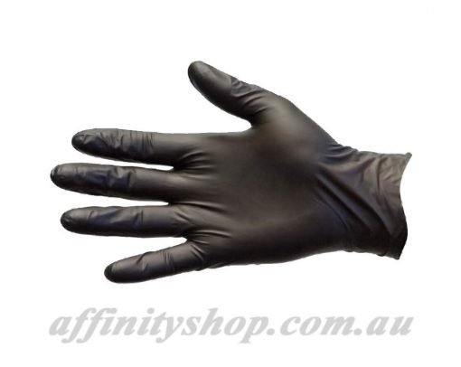 black nitrile gloves pro val blax disposable industrial nitrile glove