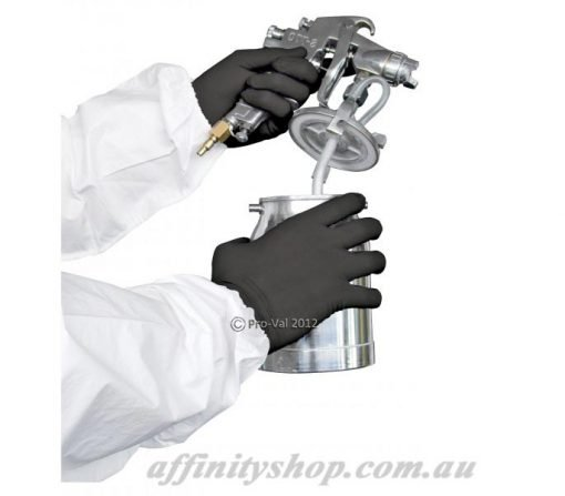 black nitrile gloves blax pro val glove