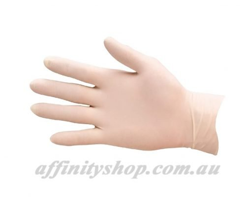 latex gloves pro val securitex disposable powdered glove