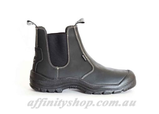 Work Boot Bison Grizzly Safety Footwear Steel Toe Scuff