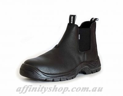 trade boots bison work safety boot leather footwear