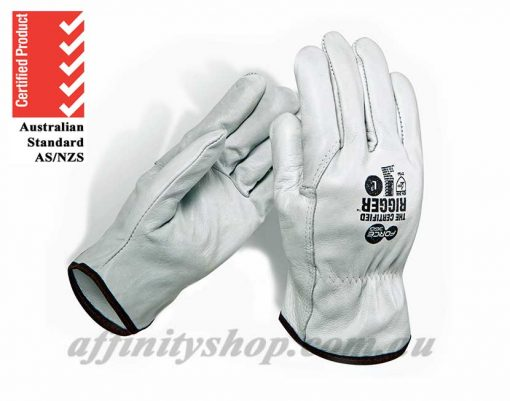 leather rigger gloves certified force360 cow leather rigger worx600