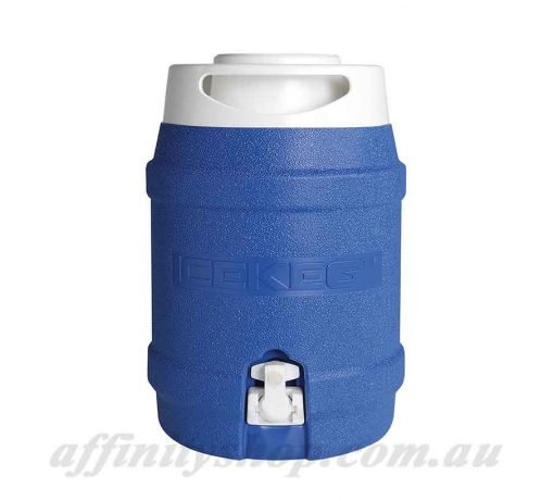 cooler ice keg 5l blue thermal drink holder work hydration