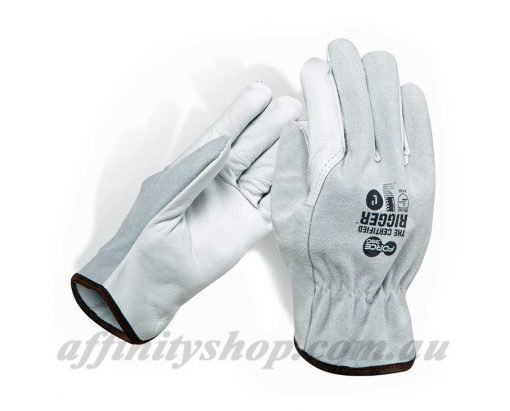 leather work gloves certified split leather riggers gloves force360 worx601