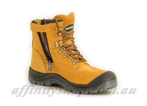 mack boots blast work footwear with zip access