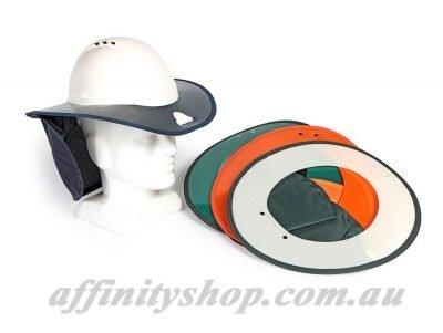 snap brim hard hat shade brim for helmet sun protection