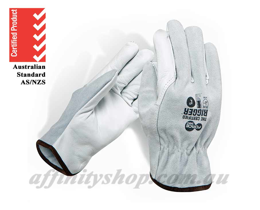 leather work gloves split rigger cow leather riggers glove