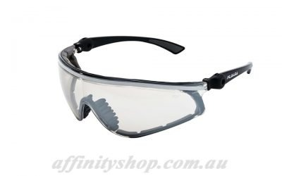 mack pilbara safety glasses clear lens dust protection