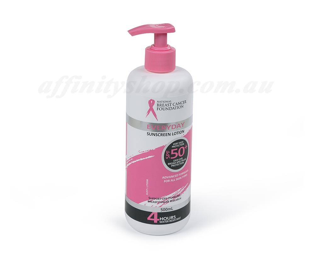 nbcf sunscreen spf 500ml pump pack nbcf54sp sun cream